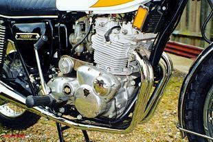Triumph Trident 160V classic British motorcycle