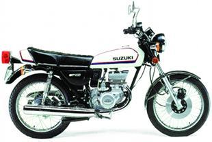 Suzuki GT185 classic motorcycle