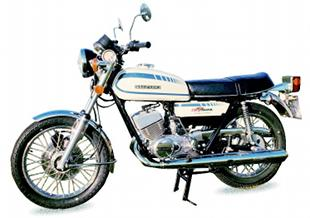 Suzuki GT250 motorcycle