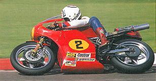 Ron Haslam, motorcycle racer