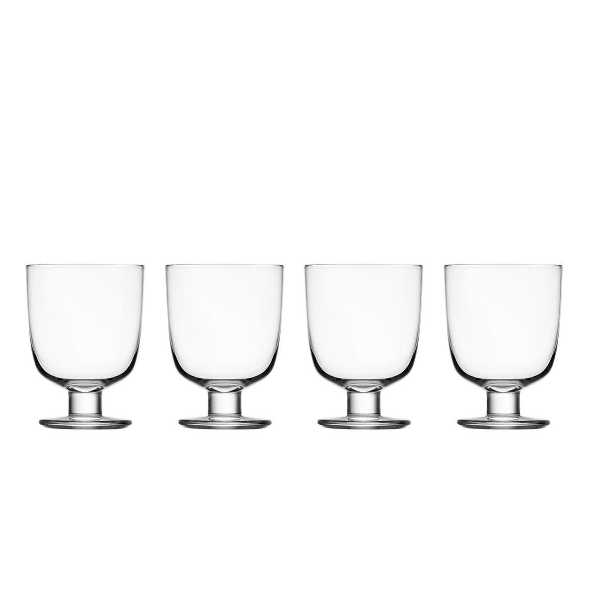 Lempi Set Of 4 Glasses By Iittala