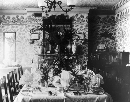 Edwardian Dining Room With A Lavishly Prepa At Science And