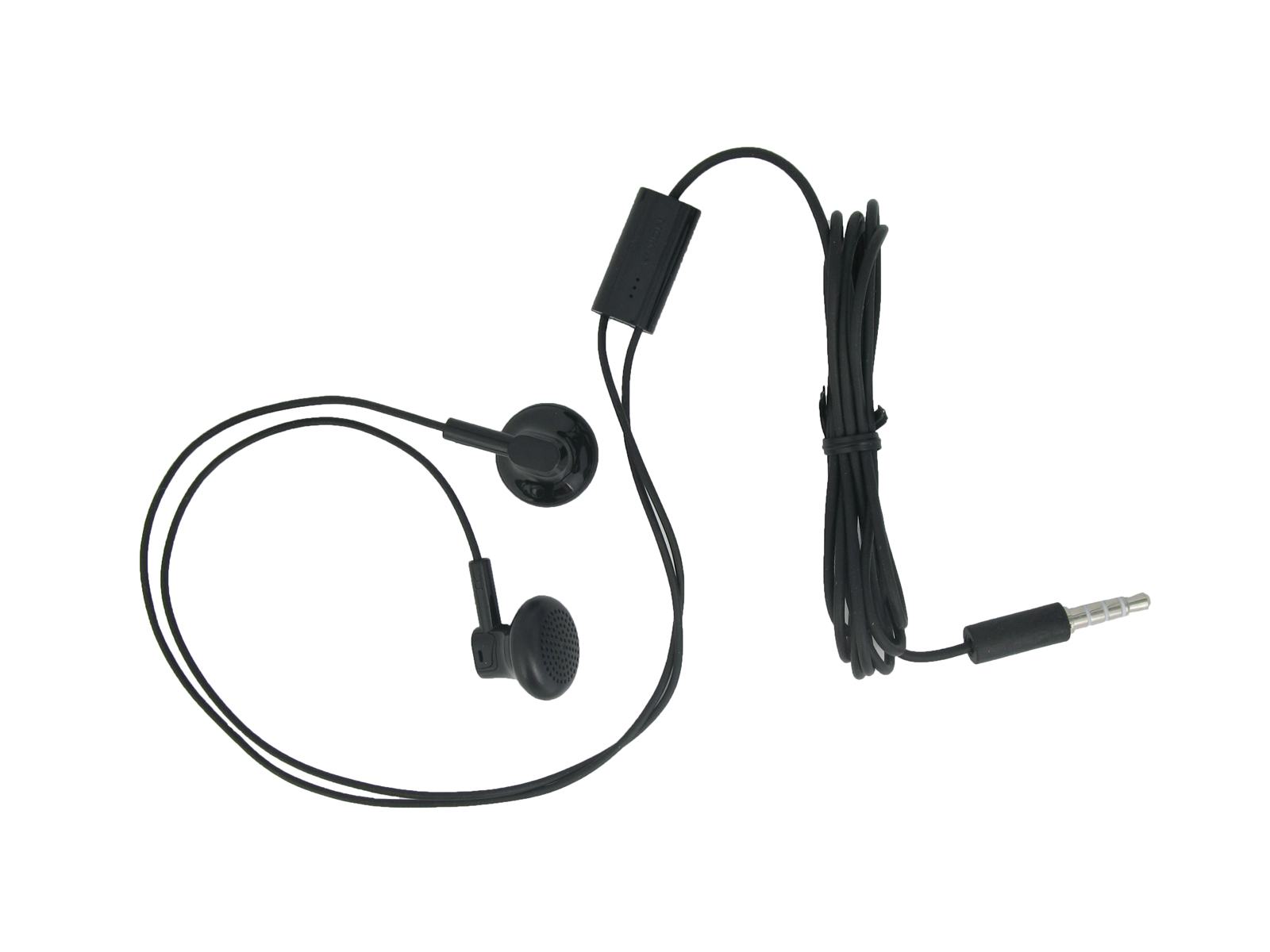 Genuine Nokia Wh 109 Black Stereo Headset Handsfree