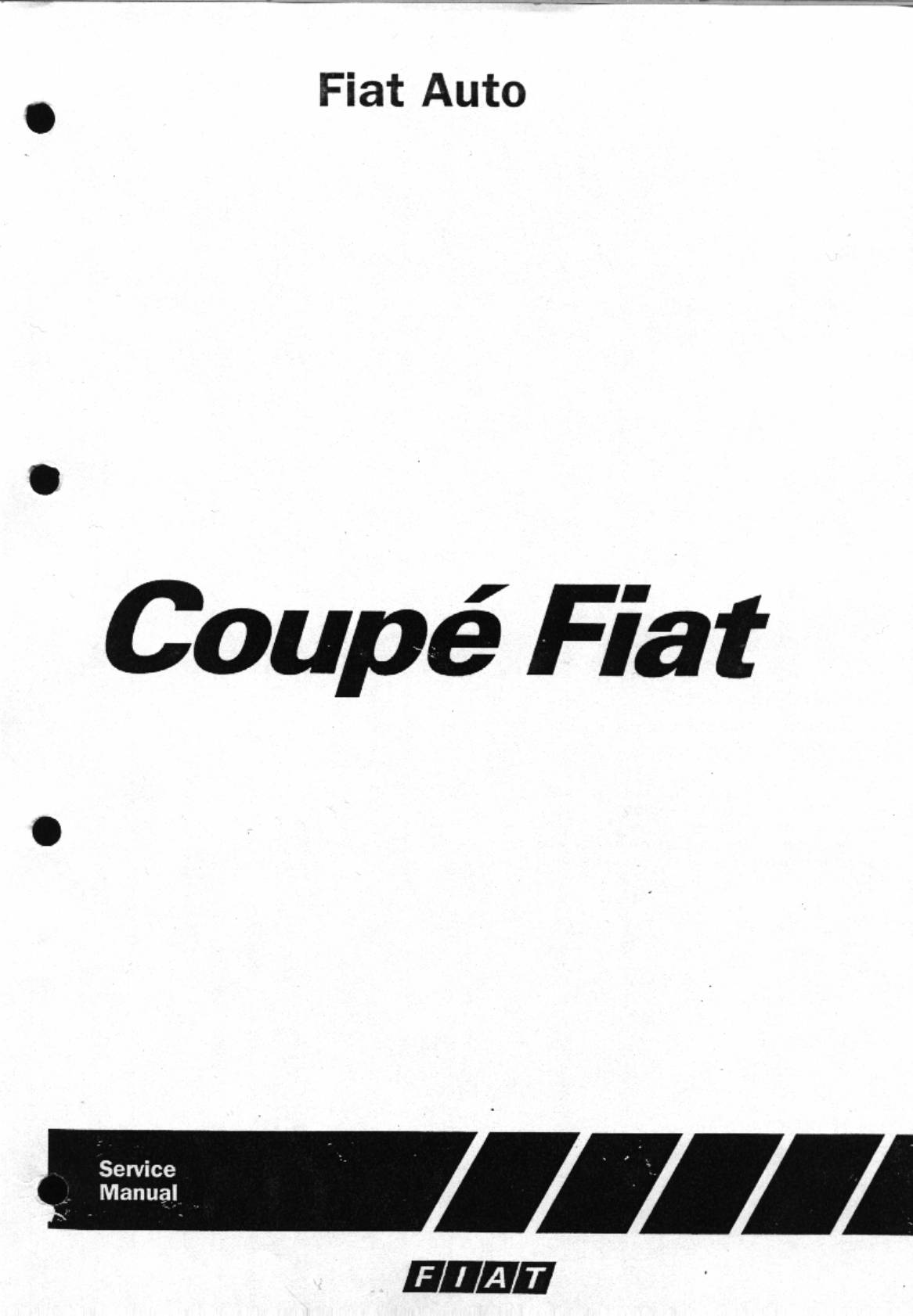 Fiat Coupe Workshop Manual
