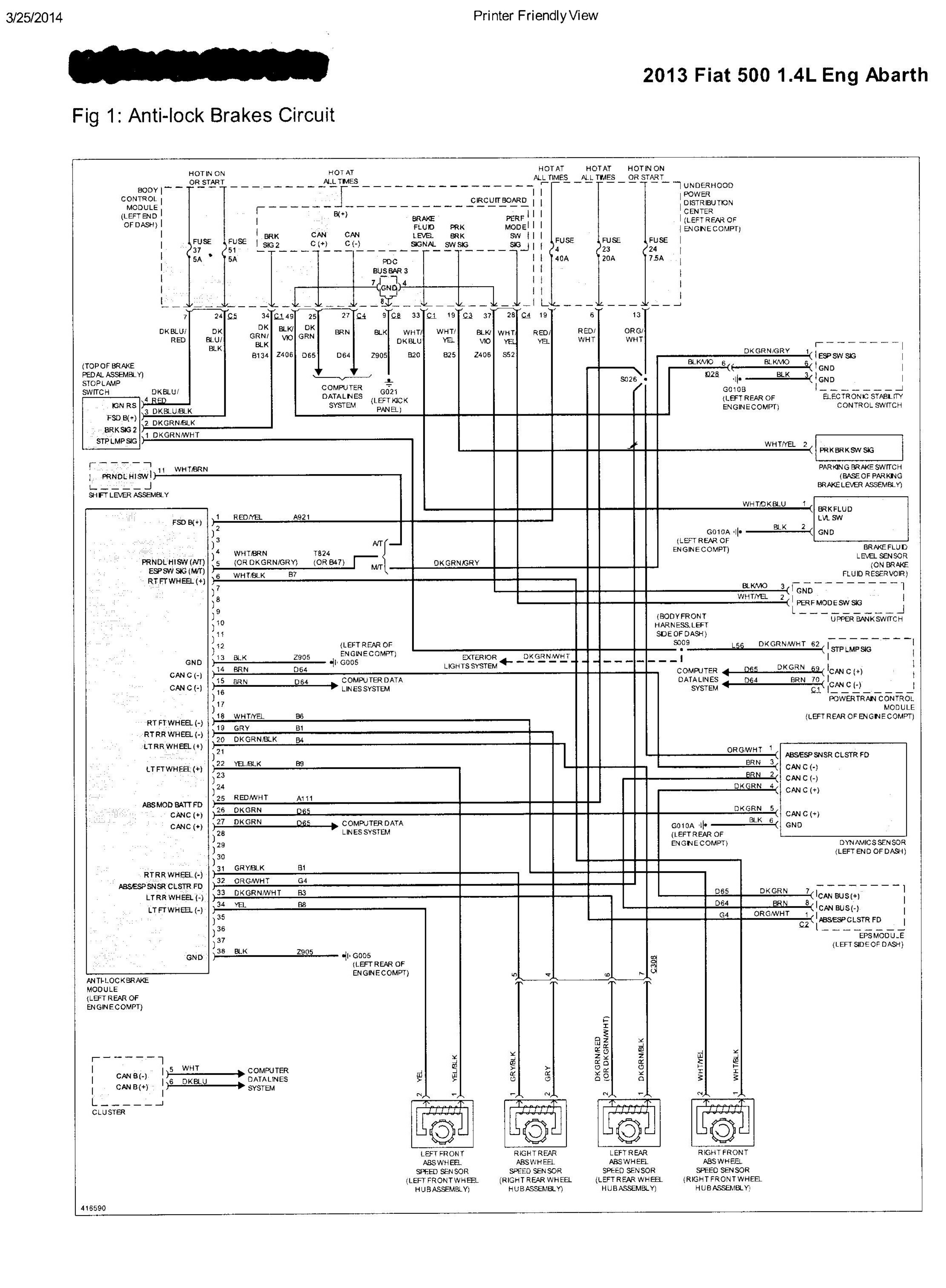 Abarth Misc Doents Wiring Diagrams Wiring Diagram For Free