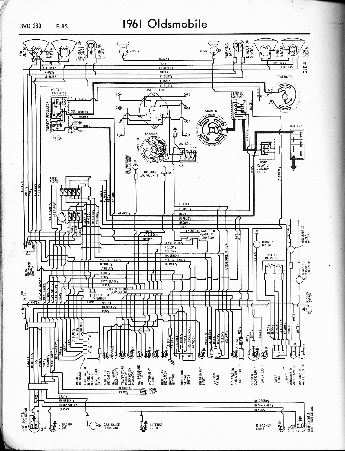 72 Old Cutlas Wiring Diagram