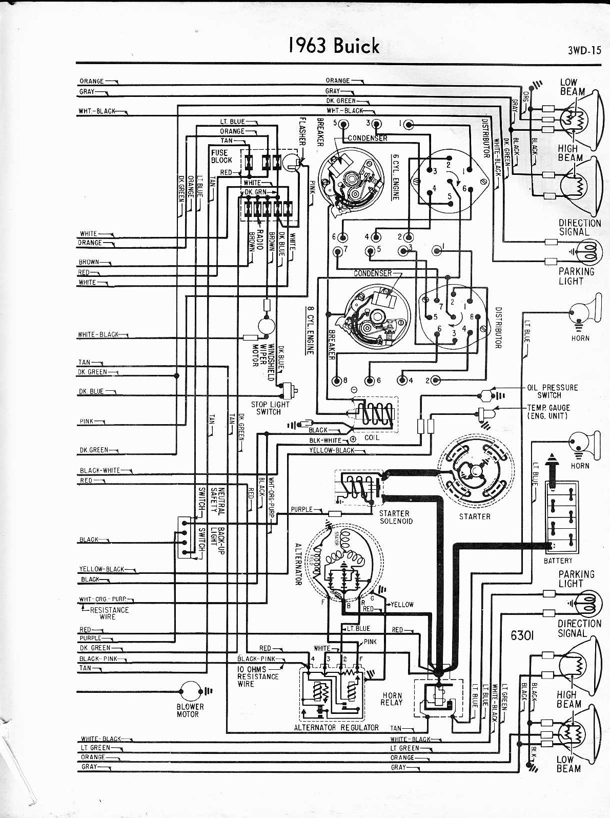 Alternator Wiring Diagram Buick Special