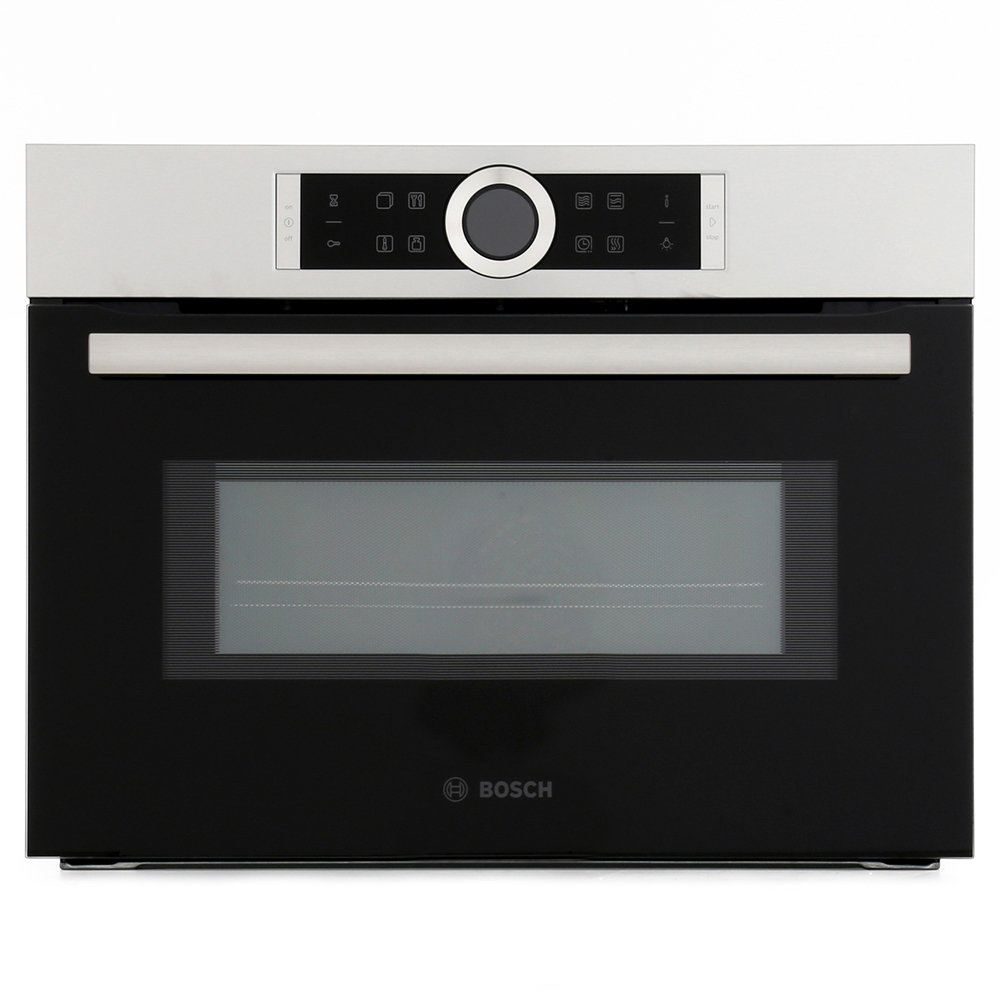 bosch serie 8 cmg633bs1b built in combination microwave
