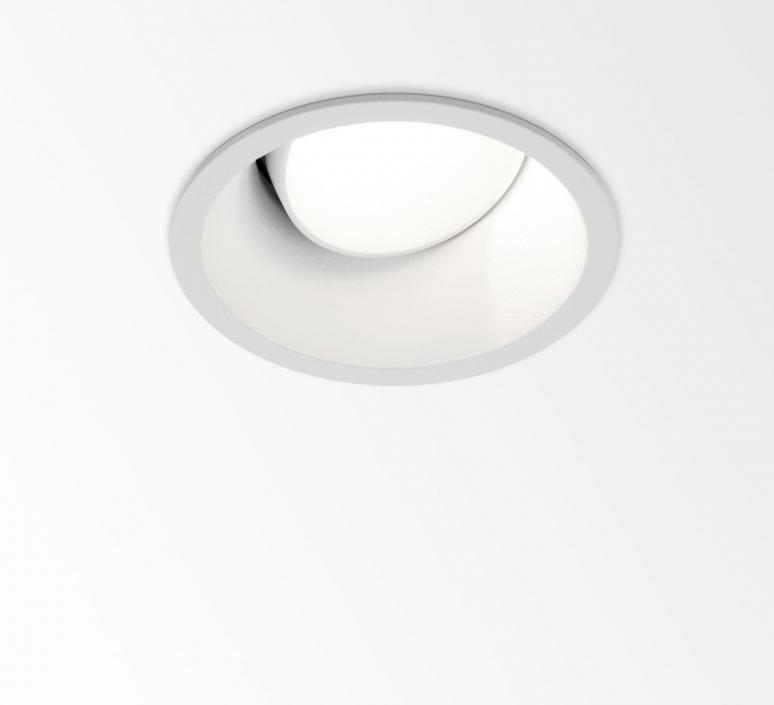 recessed light partou ok 92718 white led 2700k o8 1cm h8 8cm delta light