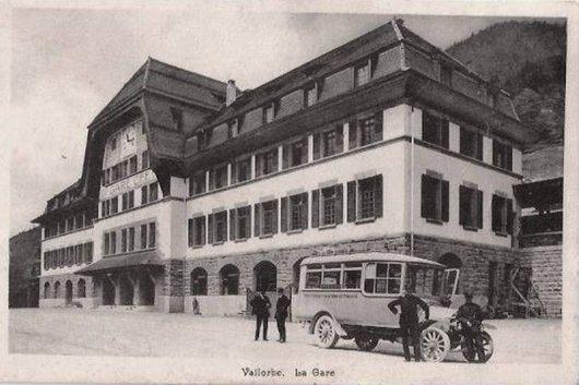 Vallorbe La Gare Internationale Notre Histoire