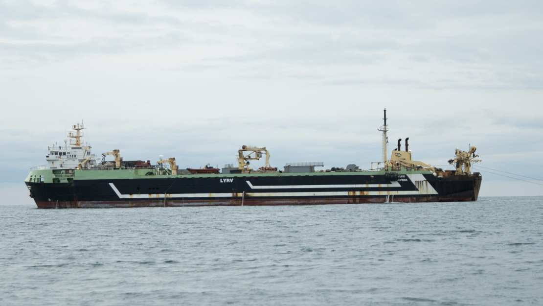 The FV Margiris supertrawler