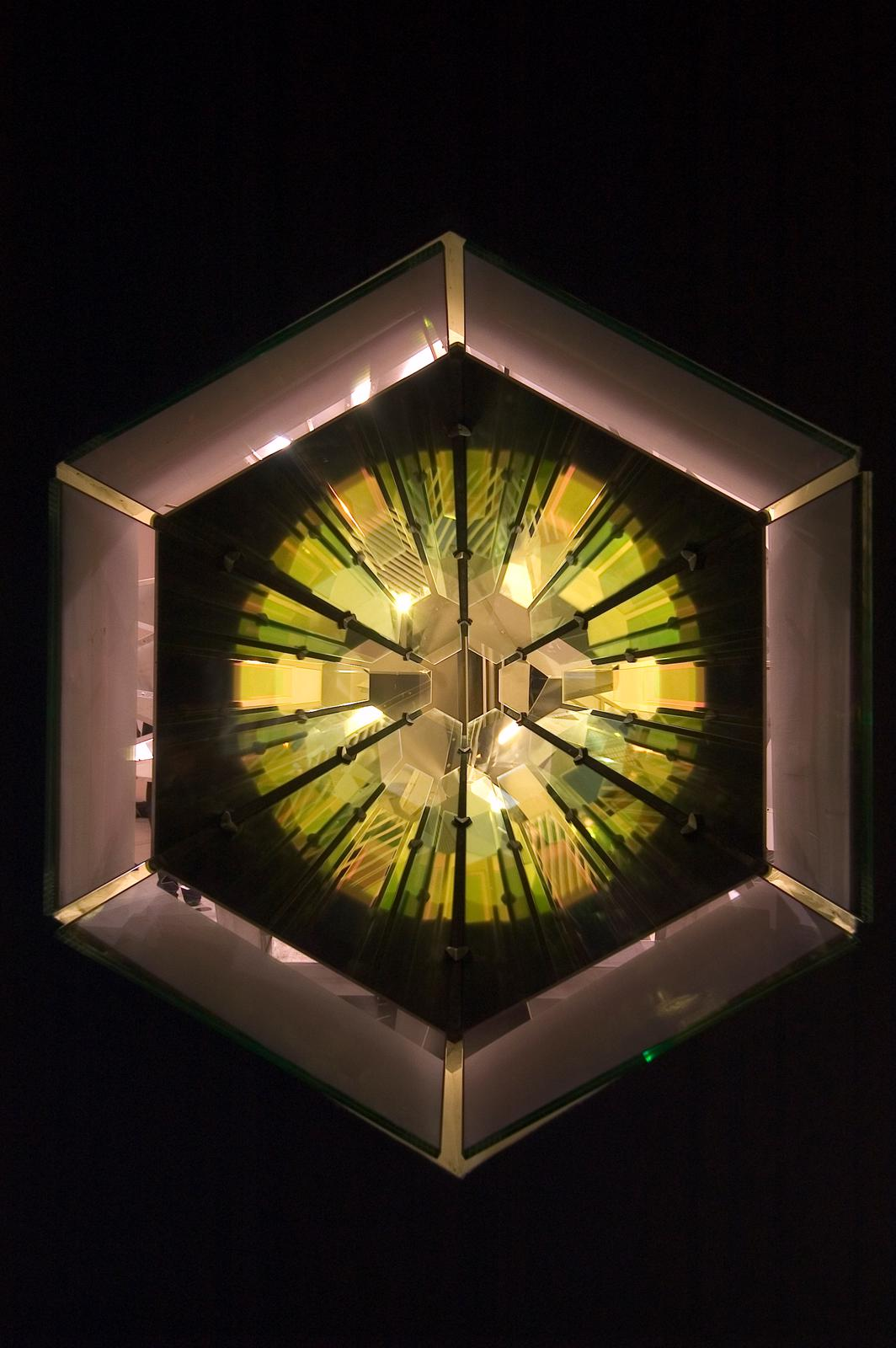 Red Green Kaleidoscope Artwork Studio Olafur Eliasson