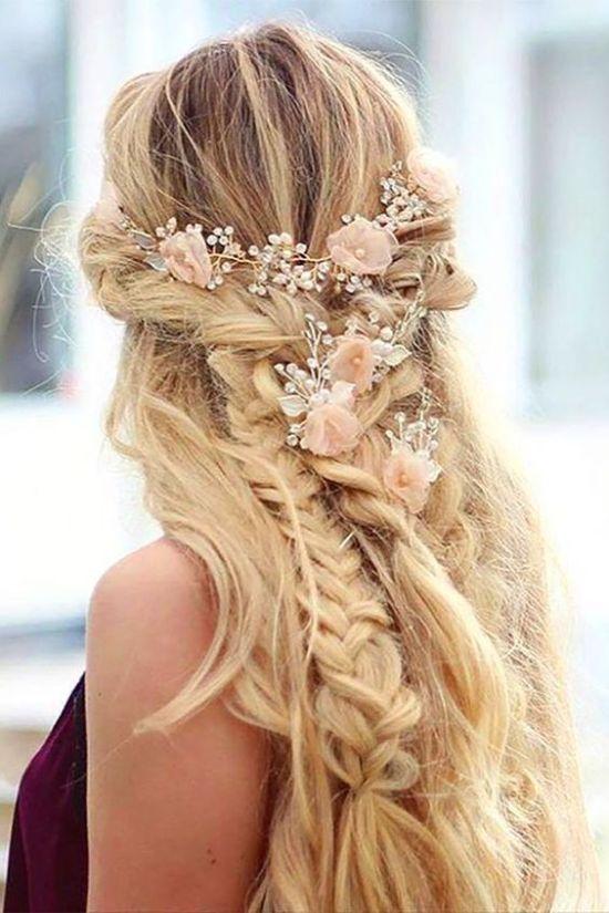 wedding hair with braids