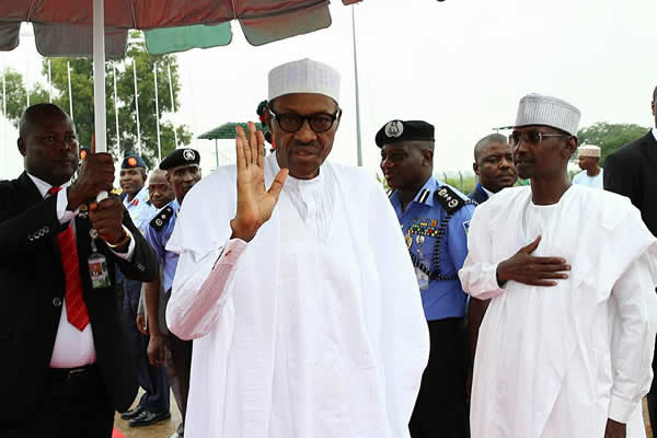 Buhari leaves for Kenya4
