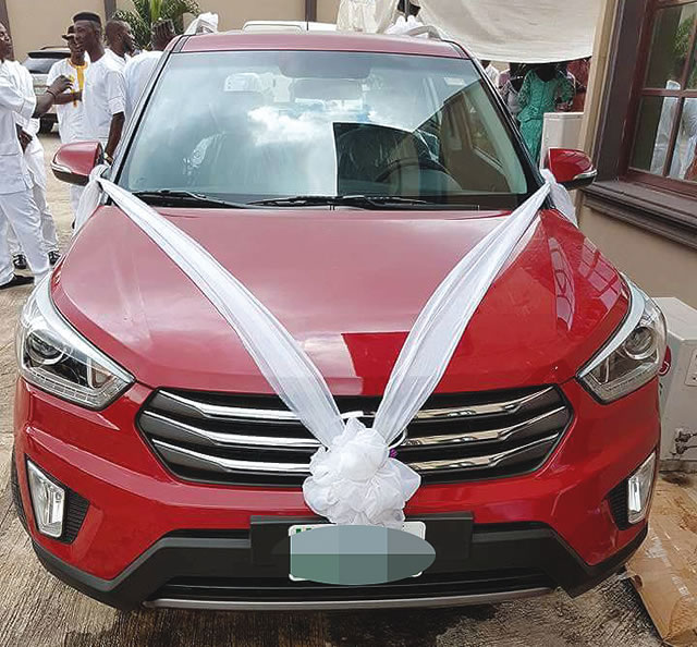 Ugorji's wedding gift donated by MMM guiders