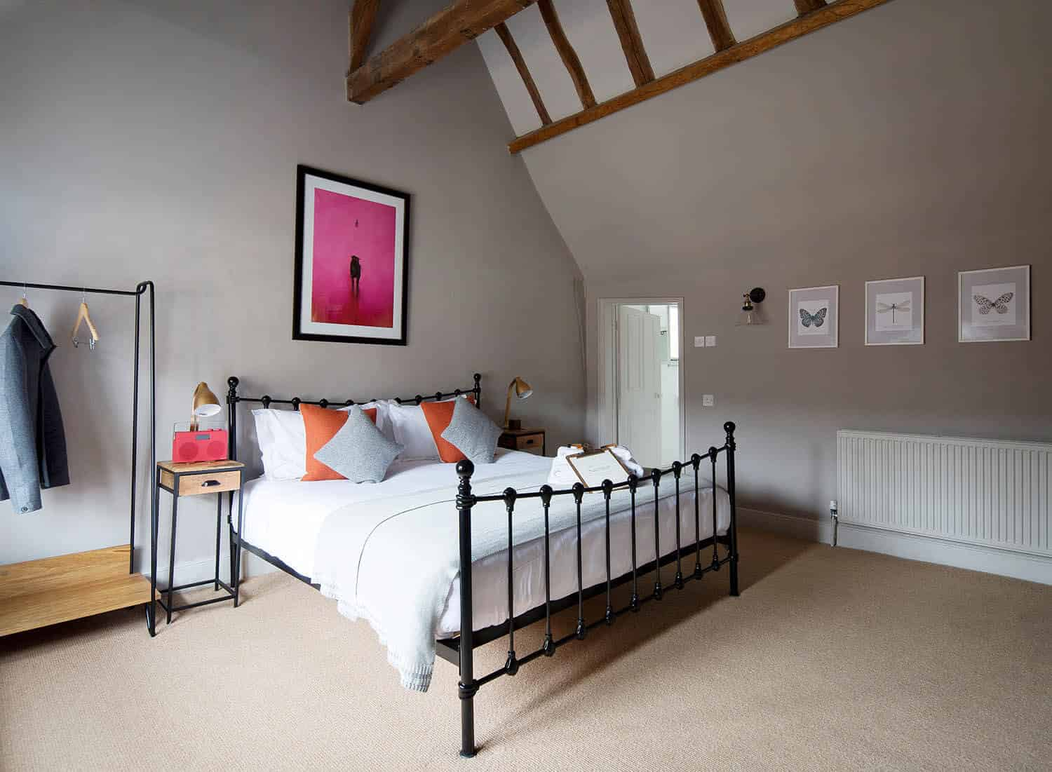 Hotel Rooms At The Wife Of Bath In Wye Nr Ashford Kent