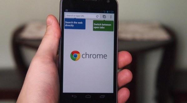 Chrome pour Android : Lecture des pages hors connexion