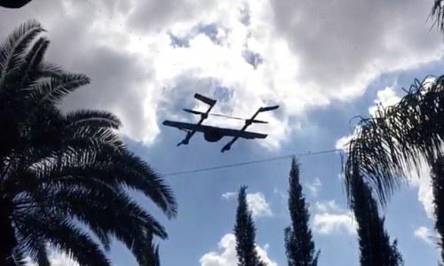 Les drones de Google prennent leurs envols
