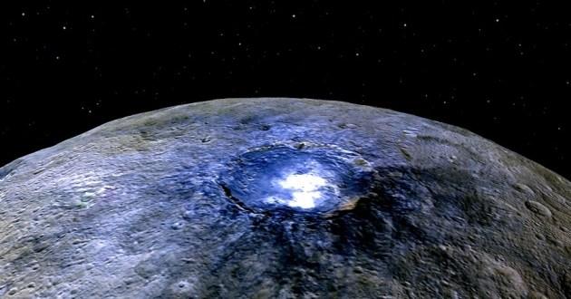 Cérès : les mystérieux points lumineux sont probablement du sel