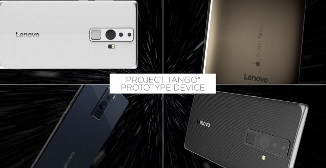 Google et Lenovo s'associent sur le projet Tango