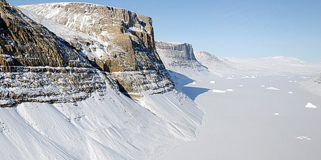 Le plus grand canyon du monde se trouve sous l'Antarctique