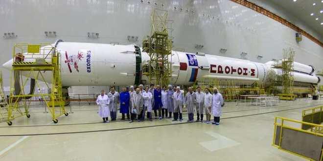 La mission ExoMars va chercher des traces de vie sur la planète rouge