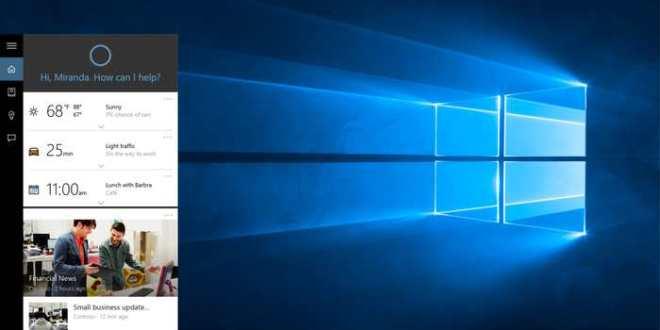 Windows 10 bloque la recherche Google avec Cortana