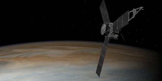 Juno est arrivé sur Jupiter
