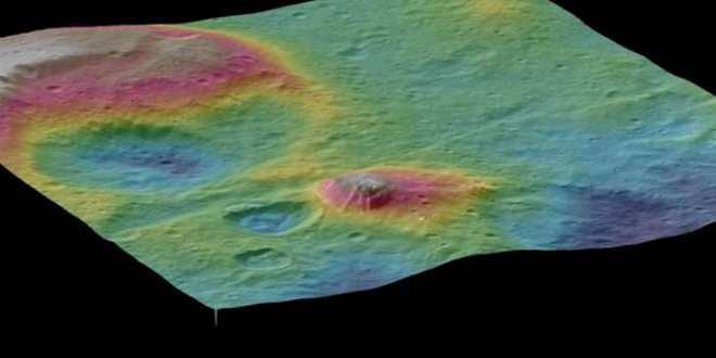 Un immense volcan de glace découvert sur Ceres