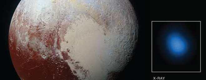 Dis donc Pluton, pourquoi émets-tu des rayons X ?