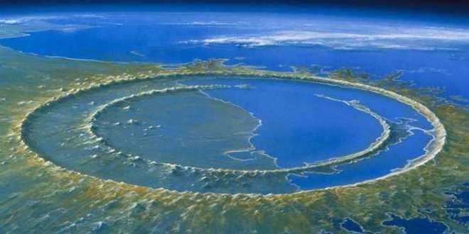 L'impact d'un astéroïde et la formation d'un cratère géant