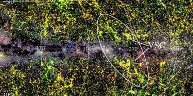 Un gigantesque amas de galaxies se cache dans notre Voie lactée