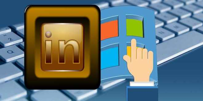Les notifications de Linkedin dans Windows 10