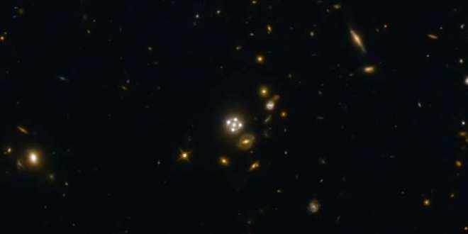 Les lentilles gravitationnelles confirment l'accélération croissante de l'expansion de l'univers