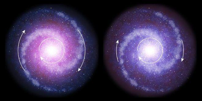 Très peu de matière noire dans les galaxies au début de l'univers