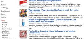 Google Actualités US touché par du Spam de viagra et de médicaments