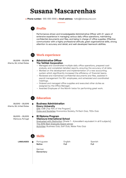 Resume Examples By Real People Data Entry Operator Resume