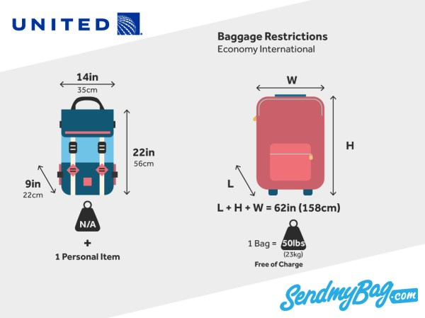 United Airlines Baggage Allowance For Carry On & Checked ...