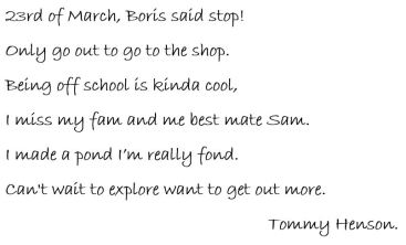 Tommy Henson Poem
