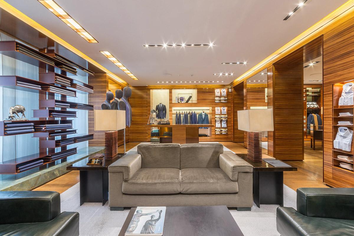 Architettura Ermenegildo Zegna Boutique Montenapoleone - Photo: © Andrea Pisapia / Spazio Orti 14