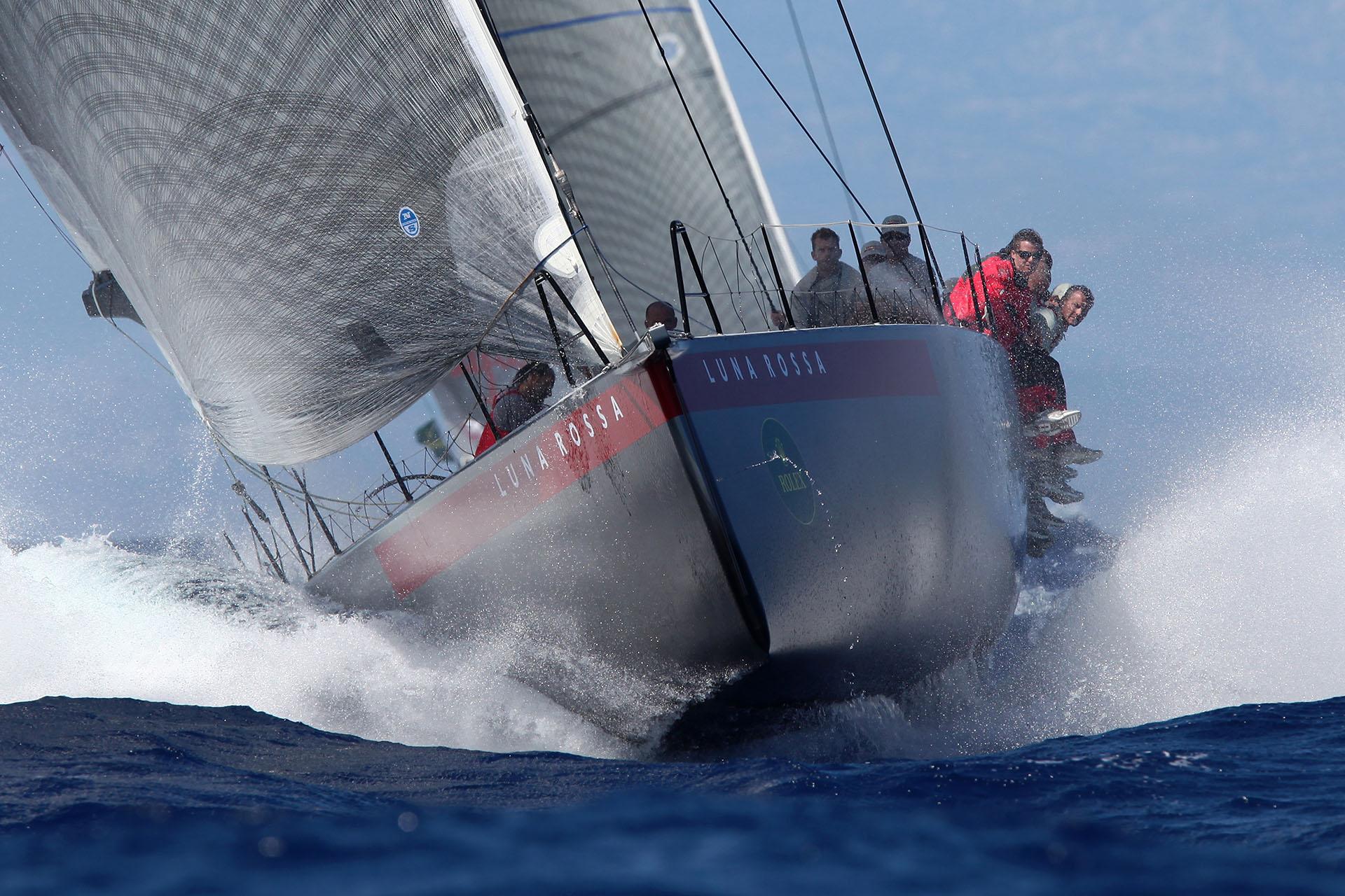 Luna Rossa Maxi Yacht  Rolex Cup- Photo: © Andrea Pisapia /Spazio Orti 14