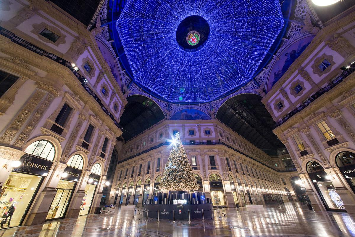 Eventi Swarovski Albero Natale - Photo: © Andrea Pisapia / Spazio Orti 14