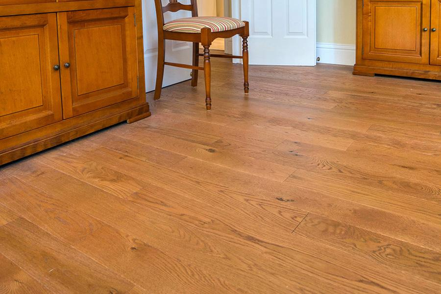 EP103 Oak Rustic Golden Stained Brushed Amp UV Oiled By V4 Woodflooring Ltd Suppliers Of