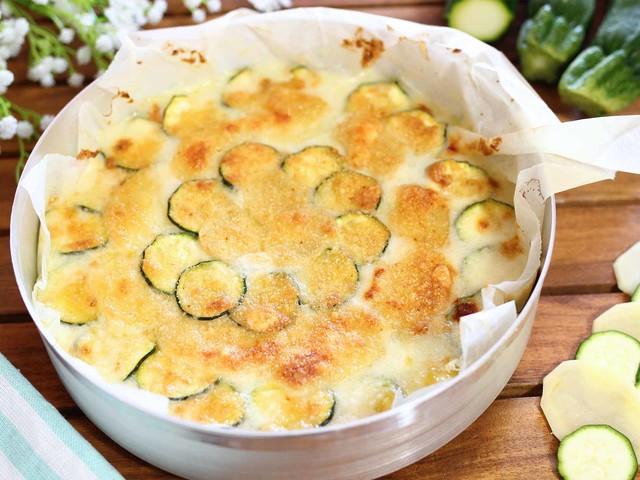 Ricetta Parmigiana Bianca Di Patate E Zucchine Cronaca