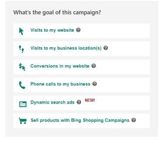 Marketer setting up a Bing Ads campaign