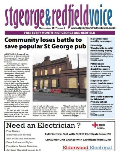 Article written by Bethany Wash in the Redfield based St George & Redfield Voice