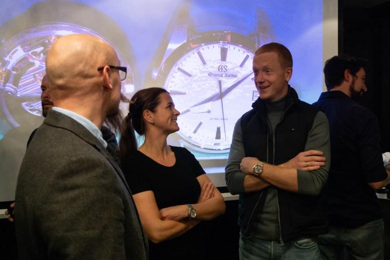 Seiko-ambassadør og OL-vinner Johannes Thingnes Bø.