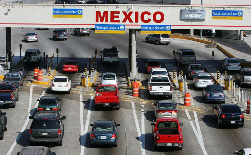 Mexico Border Cars