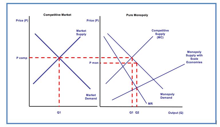 Monopoly Power and Economic Efficiency and… | Economics