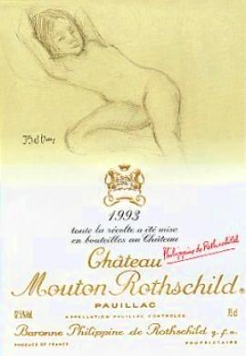 Chateau Mouton Rothschild 1993
